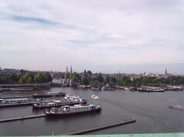 View from NEMO, Amsterdam